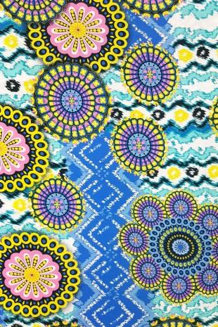 WISKOZA - MANDALA BLUE